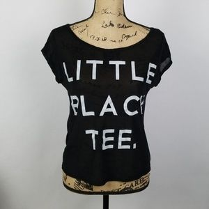 Wet Seal | little black tee shirt